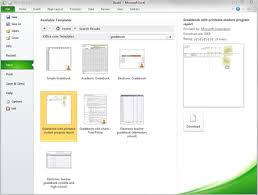 Microsoft Office 2010 Templates Free Gradebook Template For Excel 2010 Microsoft 365 Blog