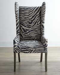 zebra arm chair. Divine Large Wingback Armchair As Furniture For Interior Decoration Ideas : Astounding Image Of Zebra Arm Chair I