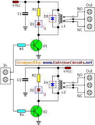 dual relay driver board circuit schematic circuit diagram dual relay driver circuit schematic diagram