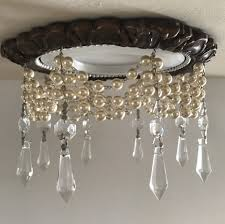 4 victorian recessed light trim chandelier with pearls beaux arts classic s