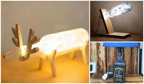 Glass Jug Lamp Diy Lamp Decorating Ideas