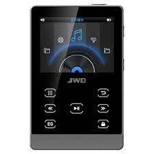 JWD JWM 107 16 GB MP3 Çalar HiFi Müzik Çalar DAC APE FLAC Loseless Ses Çalar  Bluetooth Fonksiyonu Dokunmatik Düğmesi w /TF Kart Yuvası|MP3 Player