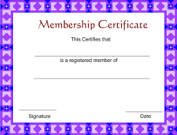 Martial Arts Certificate Templates Free Membership Certificate Under Fontanacountryinn Com