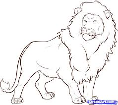 easy lion drawings. Simple Easy Lion Sketch  Viralnova With Easy Drawings I