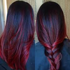 50 Striking Dark Red Hair Color