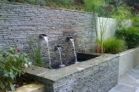 Wall Water Fountain Outdoor Decoration Stunning Fountains