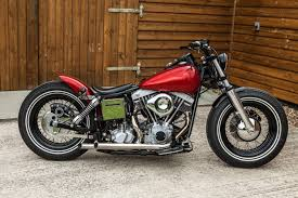 1978 shovelhead bobber flatlands cycle works