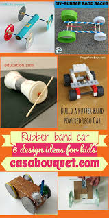 6 rubber band car designs use a axle and wheels to teach potential