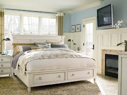 White rustic bedroom furniture King Size Rustic White Bed Panel Furniture P2uclub Rustic White Bed Panel Furniture Delaware Destroyers Home
