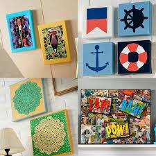 mod podge canvas art ideas for your