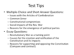 "the new curriculum key concept ""british attempts to assert  test tips multiple choice and short answer questions essay questions"
