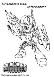Skylanders Trap Team Coloring Pages And Skylander Coloring Pages ...