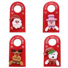 New <b>Christmas Decorations</b> Accessories <b>Christmas Cartoon</b> Door ...