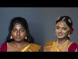 south indian makeup look for dark skin you