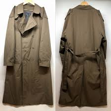 it includes a dior dior trench coat outer brown size 46 xl size men used consumption tax