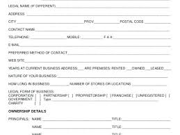 Customer Form Template New Customer Form Template Client Information Sheet Simple Picture