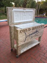 pallet board furniture. wonderful pallet patio cooler handmade with old fence boards and pallets then stenciled  a shadowed throughout pallet board furniture u