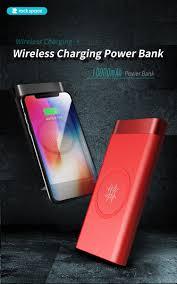 Внешний аккумулятор <b>Rock Space</b> P56 wireless <b>charging</b> Power ...