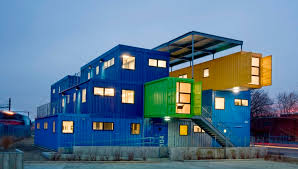 shipping container office building rhode. 32 used shipping containers created this office building container rhode management group