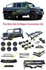 Its business is overcoming the challenges that the natural world and different weather conditions across the globe pose for its driver. W463 Mercedes Benz G Class G Wagon 6x6 Conversion Kit Full Set Ebay