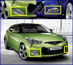 2011~2013 hyundai veloster fog light lamp complete kit wiring 3 user s instruction and wiring diagram described in english