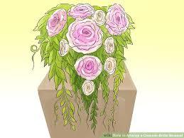 image titled arrange a cascade bridal bouquet step 8
