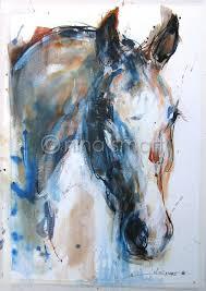 filly horse paintingsacrylic