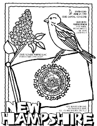 Small Picture New Hampshire Coloring Page crayolacom