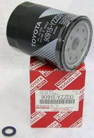 Amazon.com: Toyota Genuine Parts 90915-YZZD3 Oil Filter and 90430 ...