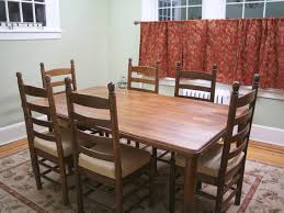 Refinish Kitchen Table Top Refinishing A Dining Table Top Dining Room Furniture Painting