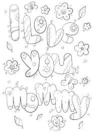 Coloring Pages For Moms Mom And Dad Coloring Pages Fantastic