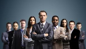 Young Attractive Business People The Networking