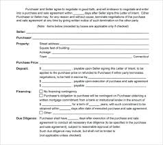 printable letter of intent to purchase commercial real estate purchaser cover letter