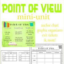 Point Of View Mini Unit The Curriculum Corner 4 5 6