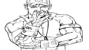 John Cena Coloring Page Printable Coloring Pages Coloring Pages John