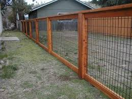 wire fence panels. Delighful Panels New Paint Hog Wire Fence Panels Intended