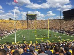 Michigan Stadium Club Level Seating Chart Michigan Stadium Section 12 Home Of Michigan Wolverines