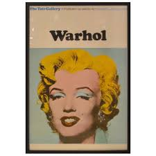 marilyn monroe poster after andy warhol from the tate gallery for