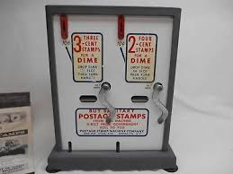 Old Stamp Vending Machine Classy ANTIQUE STAMP MACHINE 4848 PicClick