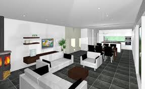 Esszimmertische Wohnzimmer Esszimmer Kuche In Einem Raum