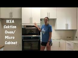 ikea sektion high cabinet with oven and