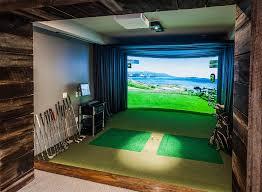 Golf Simulator Lighting Georgia Atlanta Home Theater Home Automation Smart Home