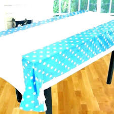 black plastic tablecloth table covers creative cloths colorful polka dot cloth and white round