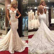 buy gentle sweetheart backless sleeveless ruched court train lace