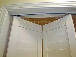 closet door jamb switch how to install a bi fold closet door bi fold closet door installation closet