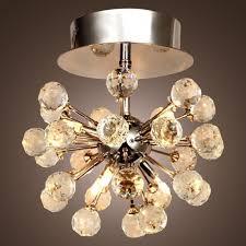 mini modern crystal chandelier