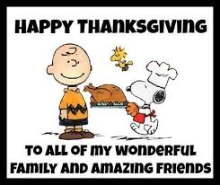 Happy Thanksgiving Quotes For Friends And Family Stunning Happy Thanksgiving To All My Wonderful Family And Amazing Friends