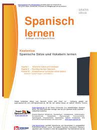 Spanisch Lernen Gratis Ebook Von Super Spanisch