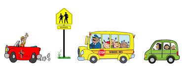 Image result for school transportation clip art