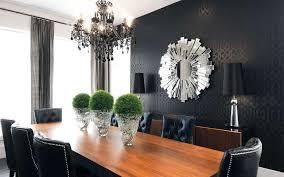 canada sunburst mirror dining room